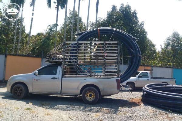 รถกระบะรับจ้างแบบคอก ราคาถูก ให้บริการทั่วประเทศไทย